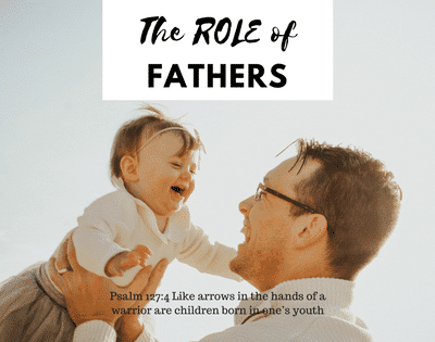 The role of fathers in the lives of their children. Fathers play an important role in the development of their children from birth to adulthood. The presence of a Godly and active father makes a huge difference in their lives.