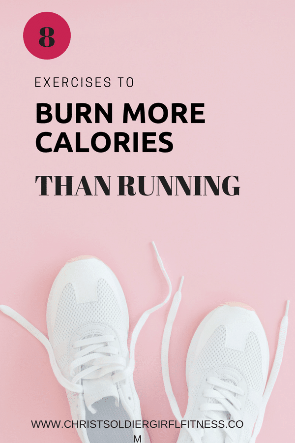 8 quick and easy exercises that burn more calories than running and can be done anywhere Need ideas of some fat burning workouts to lose weight fast especially if you hate running? Workouts for women that will help you burn even more calories and fat than running!