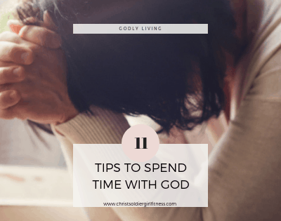 Spending time with God with all the distractions can be hard. Check out how to spend quality time with God when you have a busy schedule