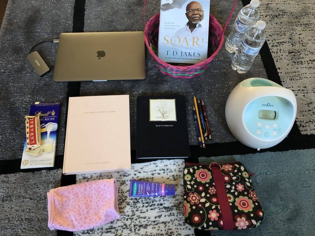 The essentials that a nursing mom needs to create a comfortable breastfeeding station, breastfeeding and pumping must-haves.