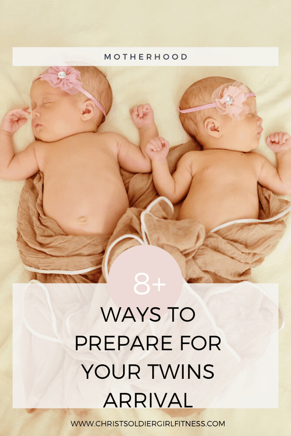 ways to prepare for the arrival of twins